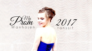 Quick Look into My Prom | vilmabrownie