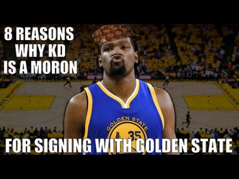 Xxx Mp4 8 Reasons Kevin Durant Was A MORON For Signing With Warriors 3gp Sex