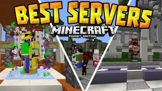 TOP 5 SERVERS in MCPE (1.0+) - Best Working Servers! - Minecraft PE (Pocket Edition)