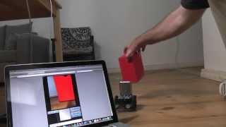 Robotics: How to make a robot follow an object