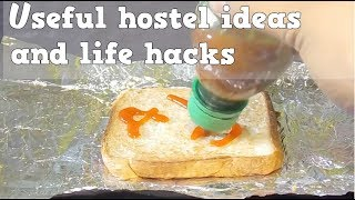 HOSTEL LIFE HACKS.. for every EMERGENCY situations