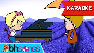 Lavender's Blue Karaoke | Kids Nursery Rhymes | Nursery Songs  [Ultra 4K Music Video]