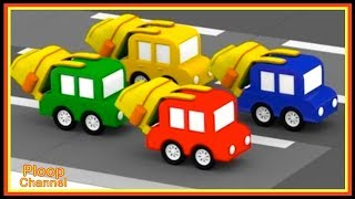 Cartoon Cars - SHOPPING for SCHOOL! - Videos for Kids - Cartoons for Children - Kids Cars Cartoons