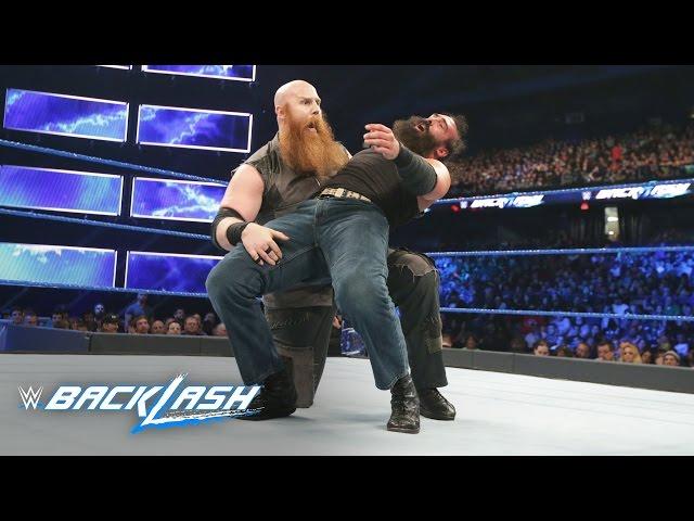 Luke Harper vs. Erick Rowan: WWE Backlash 2017 (WWE Network Exclusive)
