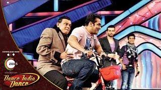 Salman Khan and Mithun Da