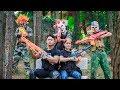 NERF WAR : Special Police SWAT Nerf Guns Fight Criminal Group Mask Avenge Your Lover