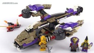 LEGO Ninjago Condrai Copter Attack review! set 70746