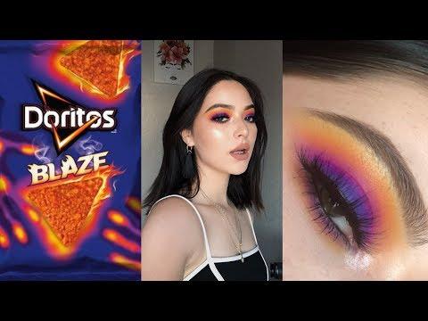 Download Doritos Blaze inspired Makeup Tutorial free