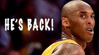 Kobe Bryant RETURNING To The BASKETBALL COURT?!