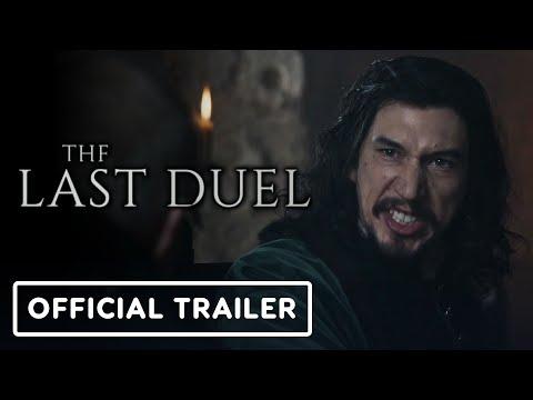 The Last Duel Official Trailer 2021 Jodie Comer Matt Damon Adam Driver Ben Affleck