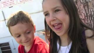 Little boy wants to kiss a little girl FUNNY2