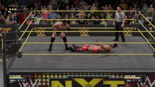 WWE 2K17 Austin Aries Signature and Finisher 1