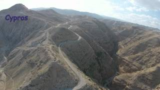 11 Road from Jericho to Jerusalem from the Air - דרך יריחו - ירושליים