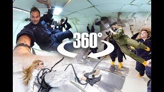 360 Degree Video Camera In Zero G Plane