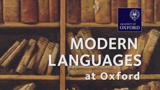 Modern Languages at Oxford University