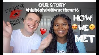 HOW WE MET| First date &Telling my AFRICAN Parents ( HIS vs HER VERSION )