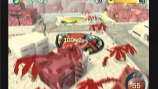 DE BLOB Wii Walkthrough Part 1A Level 1 Last Resort