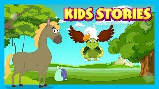 KIDS STORIES - RACE STORIES || FABLES FOR KIDS - THE BET STORY || STORYTELLING