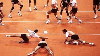 Fantastic Defense   How Do They Do It ?   Volleyball (HD)