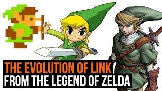 The Legend of Zelda: The Evolution of Link - 1986 to 2016