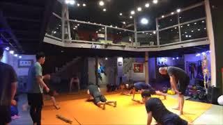 180725 Sheno, Stone lifting, Macebell Training (쉐노, 스톤 리프팅, 메이스벨)