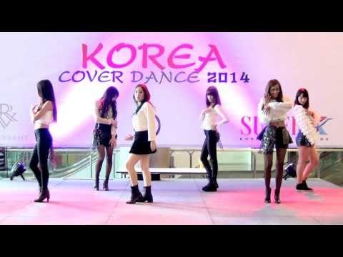 140301 Lumiere cover T-ara - NO.9 + First Love + Cry Cry @Esplanade Korea Cover Dance 2014 (Au)