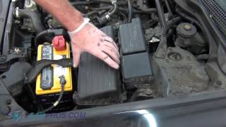 Air Filter Replacement Acura TSX 2004-2008