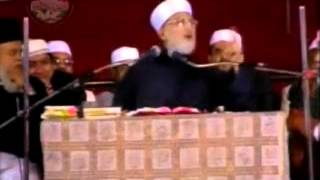 BAYAN OF ''SHAIK UL ISLAM'' TAHIR UL QADRI( DARRUSSALAM GROUND HYD) DECCAN.
