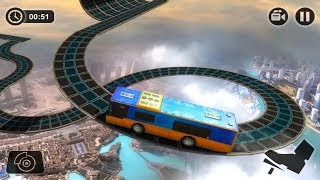 Impossible Sky Bus Driving Simulator Tracks 2019 - Bus Simulator Games Android | Free Games Download