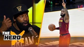 Baron Davis discusses how the NBA has changed, Talks Porzingis and why LeBron's the GOAT | THE HERD