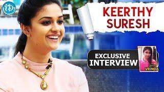 Nenu Sailaja Movie || Keerthy Suresh Exclusive Interview || Talking Movies with iDream #62