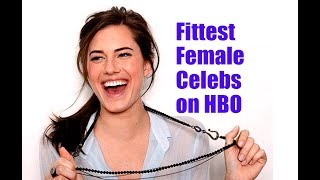 Top 10 Fittest Female Celebs on HBO | Amazing Top 10