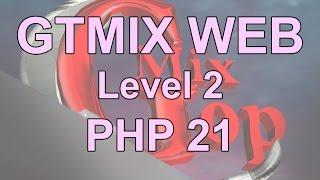 دورة تصميم و تطوير مواقع الإنترنت PHP - د 21- تطبيق عرض محتوايات المصفوفه من خلال for