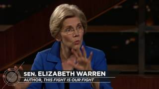 Elizabeth Warren: This Fight Is Our Fight | Real Time with Bill Maher (HBO)