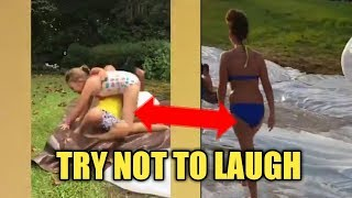 Try Not to laugh - Compilation Funny Fails ( Enamon Jokes )