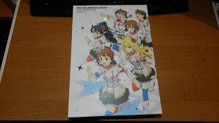 The iDOLM@STER Movie BD (3 disc version) Unboxing