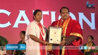 Satyabama University 26th Convocation Event Video - Fulloncinema
