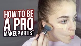 HOW TO BE A PRO MAKEUP ARTIST | Baby Ariel