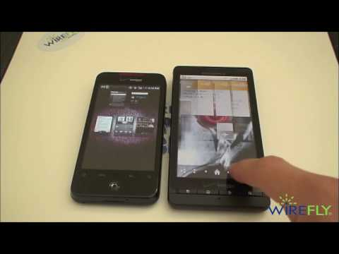 Motorola DROID X vs. DROID Incredible by HTC