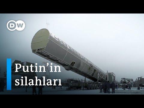 Putin yeni teknolojik silahları tanıttı - DW Türkçe