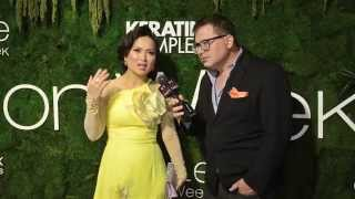 Singer and Actress Ha Phuong at Quynh Paris Style Fashion Week NY