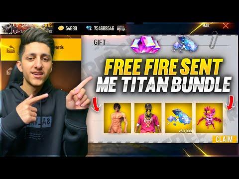 Free Fire Sent Me Titan Bundle 10 000 Diamond 💎 & New Pet New Upcoming Event Garena Free Fire
