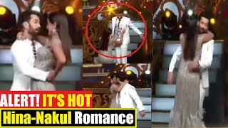 Hina Khan Romantic Dance with Nakul Mehta | #Goldawards 2018| Watch Video | Final Cut News
