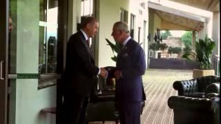 NATO Devlet ve Hükümet Başkanları Zirvesi'nde Galler Prensi Charles ile Görüştü - 05.09.2014