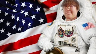 Asian Andy JOINS SPACEX & GOES TO SPACE