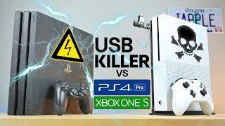 USB Killer vs PS4 Pro & Xbox One S - Instant Death?