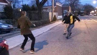 Self-Defense Instructor vs 2 Street Thugs