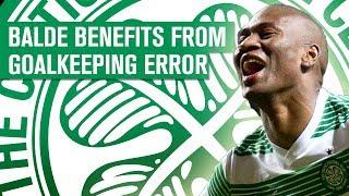 Goalkeeper error! Samson slips and Balde scores