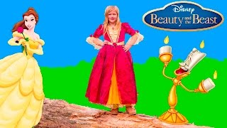 BEAUTY AND THE BEAST Disney Belle Hunt for the Golden Rose Assistant Surprise Treasure Hunt