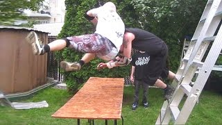 Top 100 Tables in CHW Backyard Wrestling History!